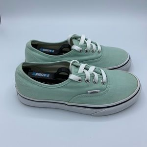 COPY - Vans Canvas Sneaker Gossamer Green/True Wh…